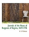 Journals of the House of Burgesses of Virginia, 1619-1776