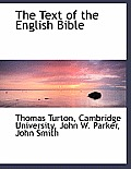 The Text of the English Bible