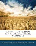 Annales Du Musum D'Histoire Naturelle, Volume 15
