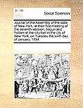 Journal of the Assembly of the State of New-York, at Their First Meeting of the Seventh Session, Begun and Holden at the City-Hall in the City of New-
