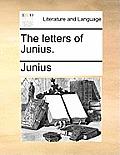 The Letters of Junius.