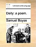 Deity: A Poem.