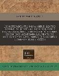 de Heteroclytis Nominibus. Editio Roberti Whitintoni Lichfeldiensis Protouatis Anglie in Flore[n]tissima Oxoniensi Academia Laureati: de Heteroclytis