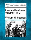 Law and Business. Volume 1 of 3