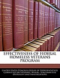 Effectiveness of Federal Homeless Veterans Program