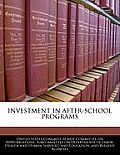 Investment in After-School Programs