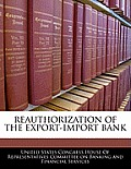 Reauthorization of the Export-Import Bank