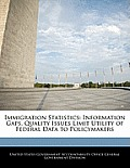 Immigration Statistics: Information Gaps, Quality Issues Limit Utility of Federal Data to Policymakers