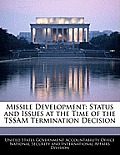 Missile Development: Status and Issues at the Time of the Tssam Termination Decision