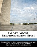 Export Import Reauthorization Issues