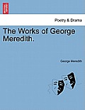 The Works of George Meredith.