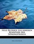 Neue Beitr GE Zur N Heren Kenntniss Der Siphonophoren