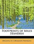 Footprints of Miles Standish