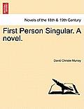 First Person Singular. a Novel.