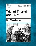 Trial of Thurtell and Hunt