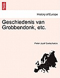 Geschiedenis Van Grobbendonk, Etc. Derde Deel