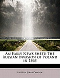 An Early News Sheet: The Russian Invasion of Poland in 1563