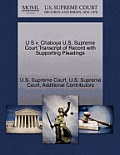 U S V. Chaboya U.S. Supreme Court Transcript of Record with Supporting Pleadings