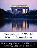 Campaigns of World War II: Rome-Arno