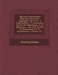 Nouveau Dictionnaire D'Histoire Naturelle, Appliquee Aux Arts, A L'Agriculture, A L'Economie Rurale Et Domestique, a la Medecine...: Par Une Societe D
