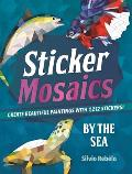 Sticker Mosaics By the Sea Create Beautiful Paintings with 1205 Stickers