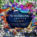 Mythographic Color & Discover Animals An Artists Coloring Book of Amazing Creatures & Hidden Objects