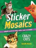 Sticker Mosaics Crazy Cats Create Cute Pictures with 1842 Stickers