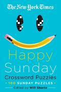 New York Times Happy Sunday Crossword Puzzles 100 Sunday Puzzles