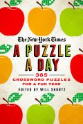 New York Times A Puzzle a Day 365 Crossword Puzzles for a Year of Fun