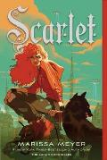 Lunar Chronicles 02 Scarlet new cover