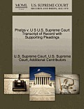 Phelps V. U S U.S. Supreme Court Transcript of Record with Supporting Pleadings