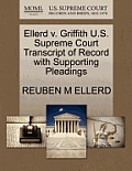 Ellerd V. Griffith U.S. Supreme Court Transcript of Record with Supporting Pleadings