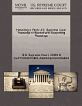 Helvering V. Fitch U.S. Supreme Court Transcript of Record with Supporting Pleadings
