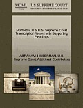 Morford V. U S U.S. Supreme Court Transcript of Record with Supporting Pleadings