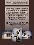Daniel King, Robert Goldsmith, Albert Dallas, et al., Appellants, V. H. Sam Priest, Thomas H. Cobbs, Francis L. George, et al., Etc. U.S. Supreme Cour