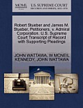 Robert Stueber and James M. Stueber, Petitioners, V. Admiral Corporation. U.S. Supreme Court Transcript of Record with Supporting Pleadings