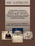 United States of America, Appellant, V. Jack Green and General Laborers' Local 397 of Granite City, Illinois, U.S. Supreme Court Transcript of Record