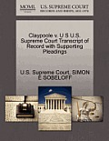 Claypoole V. U S U.S. Supreme Court Transcript of Record with Supporting Pleadings