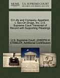 Eli Lilly and Company, Appellant, V. Sav-On-Drugs, Inc. U.S. Supreme Court Transcript of Record with Supporting Pleadings