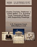 Charles Travitzky, Petitioner, V. United States. U.S. Supreme Court Transcript of Record with Supporting Pleadings