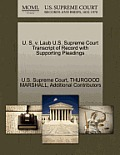 U. S. V. Laub U.S. Supreme Court Transcript of Record with Supporting Pleadings