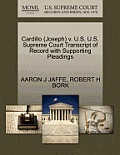 Cardillo (Joseph) V. U.S. U.S. Supreme Court Transcript of Record with Supporting Pleadings