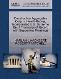 Construction Aggregates Corp. V. Hewitt-Robins, Incorporated U.S. Supreme Court Transcript of Record with Supporting Pleadings