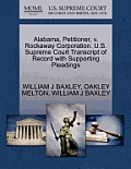 Alabama, Petitioner, V. Rockaway Corporation. U.S. Supreme Court Transcript of Record with Supporting Pleadings