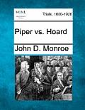 Piper vs. Hoard