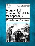 Argument of Edmund Randolph, for Appellants