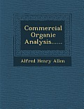 Commercial Organic Analysis......