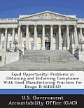 Equal Opportunity: Problems in Obtaining and Enforcing Compliance with Good Manufacturing Practices for Drugs: B-164031(2)