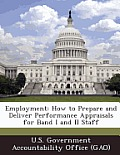 Employment: How to Prepare and Deliver Performance Appraisals for Band I and II Staff