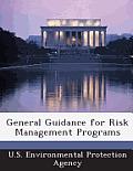 General Guidance for Risk Management Programs